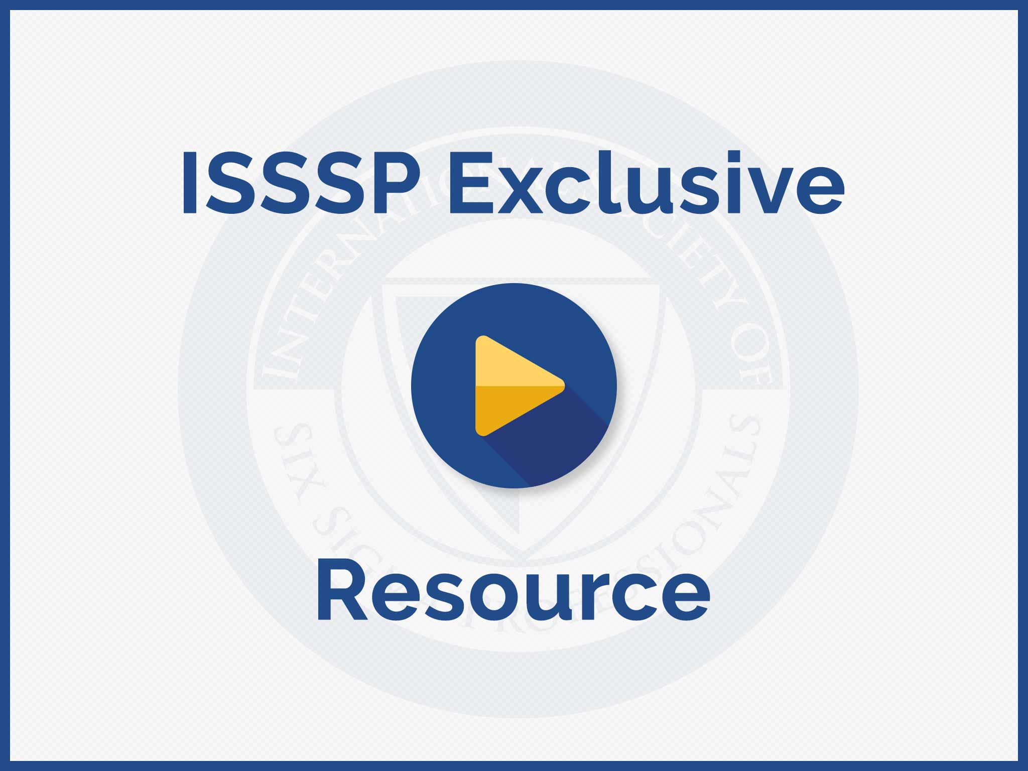 ISSSP Presentation Video Preview